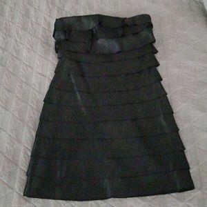 Black cocktail dress